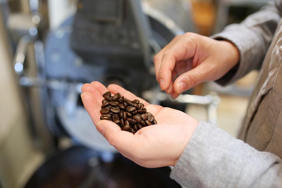 アルパカコーヒー焙煎